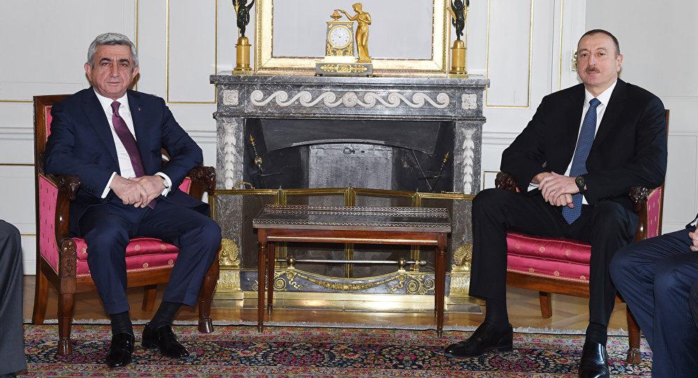 Встреча президентов Азербайджана и Армении, Берн, 19 декабря 2015 года