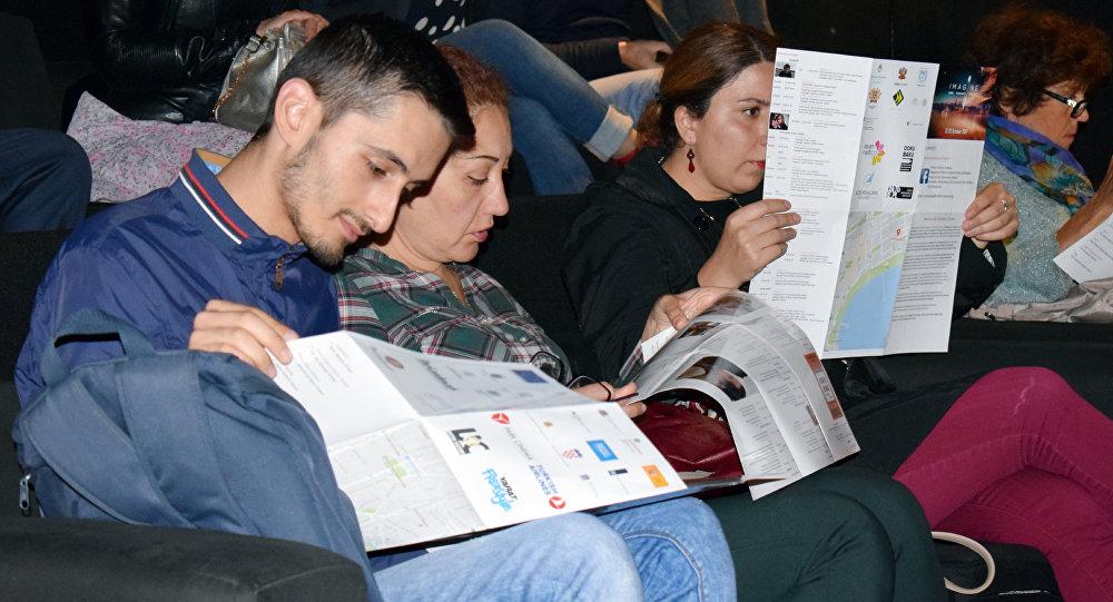 Открытие первого международного фестиваля документального кино DokuBaku