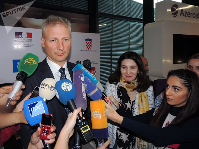Интервью главы представительства ЕС в Азербайджане, посла Кестудиса Янкаускаса