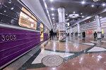 Bakı metropoliteninin stansiyalarından biri, arxiv şəkli