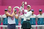 Tianjin şəhərində keçirilən yerüstü tennis üzrə dünya çempionatının qalibi Mariya Şarapova