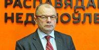 Заместитель директора по медицинской части Республиканского научно-практического центра психического здоровья Сергей Осипчик