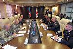 Министр обороны Азербайджана встретился с начальником Генерального Штаба Вооруженных сил Грузии