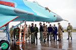 Военные атташе зарубежных стран, аккредитованные в Азербайджане, посетили базу Военно-воздушных сил