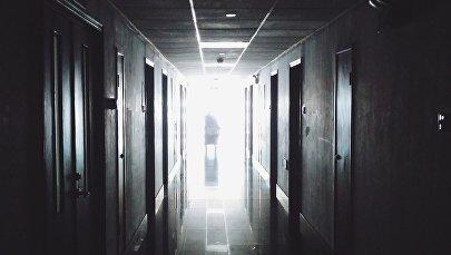 Больничный коридор, фото из архива