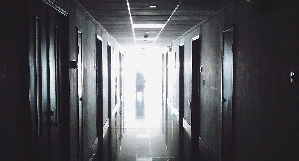 Xəstəxana dəhlizi, arxiv şəkli