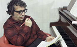 Азербайджанский композитор, народный артист СССР Гара Гараев в 1917 году