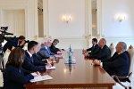 İlham Əliyev Polşanın xarici işlər nazirini qəbul edib