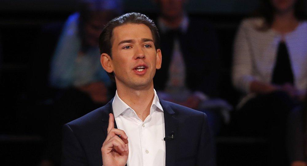 Лидер консервативной Народной партии Австрии Себастьян Курц