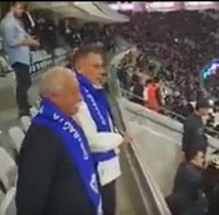 Леонид Якубович болеет за Карабах