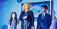 Алла Пугачева с Зулей и Рустамом Джабраиловыми
