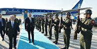 Президент Азербайджана Ильхам Алиев в Международном аэропорту Стамбула имени Ататюрка