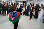 Азербайджанская делегация на XIX Всемирном фестивале молодежи и студентов в Сочи