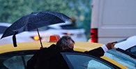 Moskvada taksi, arxiv şəkli