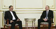 Встреча президента Азербайджана Ильхама Алиева с первым вице-президентом Ирана Эсхаком Джахангири, Стамбул, 19 октября 2017 года