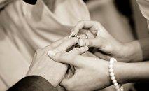 Свадьба, фото из архива