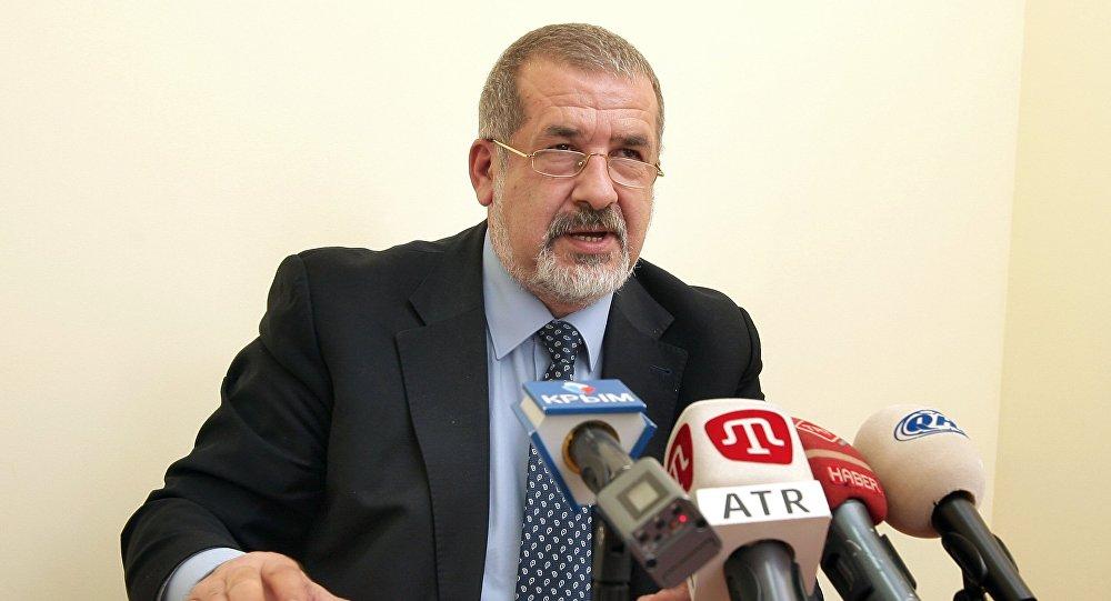 Krım Tatar Milli Məclisinin sədri Refat Çubarov