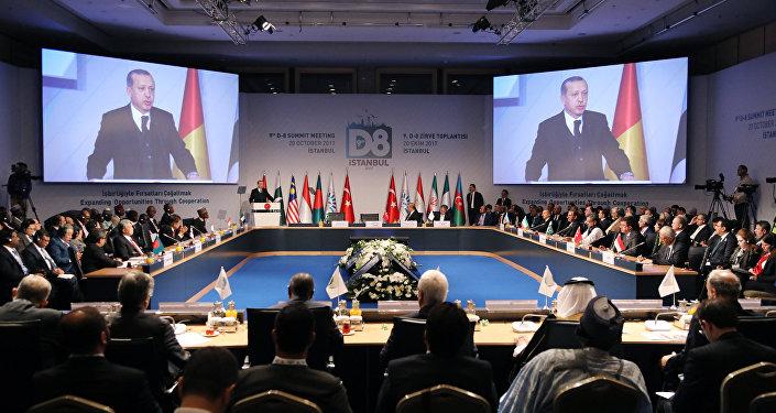 Türkiyə Respublikasının Prezidenti Rəcəb Tayyib Ərdoğanın Zirvə görüşündə çıxışı