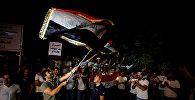 Иракцы празднуют захват Киркука иракскими войсками