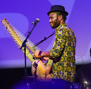 Концерт гвинейского музыканта Сейку Кояте в рамках Baku Jazz Festival 2017