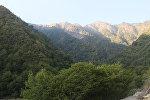 Qax rayonunun dağlıq ərazisi