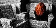 Плачущая женщина. Архивное фото