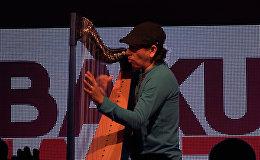 Кастанеда показал в Баку, что арфа не только женский инструмент