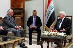 Встреча государственного секретаря США Рекса Тиллерсона с президентом Ирака Фуадом Масумом, Багдад, 23 октября 2017 года