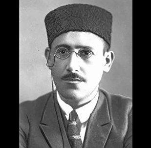 Азербайджанский поэт и драматург Гусейн Джавид