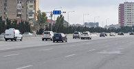 Движение транспорта на трассе Баку-Сумгайыт, фото из архива