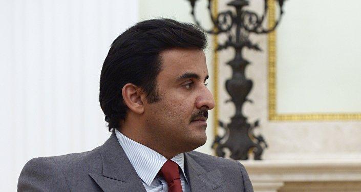 Эмир государства Катар шейх Тамим бен Хамад Аль Тани, фото из архива