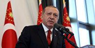 Президент Турции Тайип Эрдоган, фото из архива