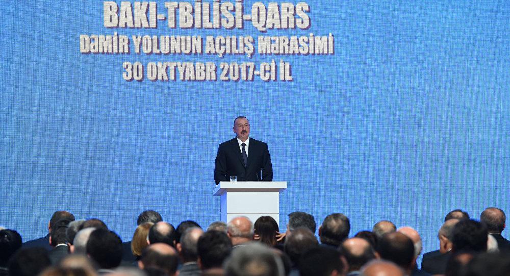 Азербайджан, Турция иГрузия запустили железную дорогу вобход Российской Федерации