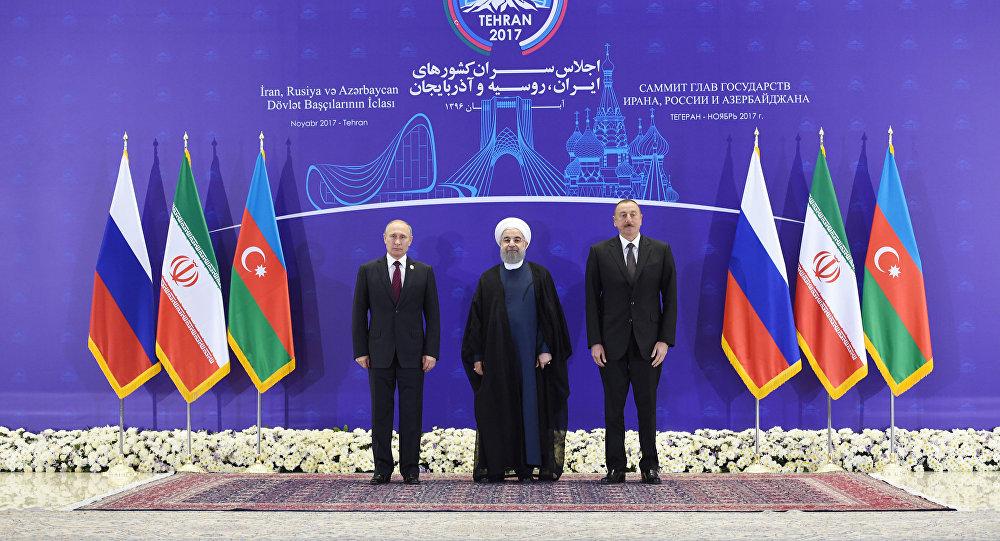 Əliyev, Putin və Ruhani