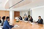 Первый вице-президент Азербайджана встретилась с членами группы дружбы Франция-Азербайджан Национальной Ассамблеи Франции
