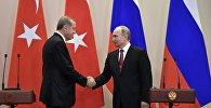 Prezident Ərdoğan və Prezident Putin
