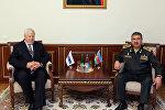 Министр обороны Азербайджанской Республики генерал-полковник Закир Гасанов встретился с личным представителем действующего председателя ОБСЕ Анджеем Каспшиком
