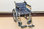 Инвалидная коляска в Бакинском аэропорту