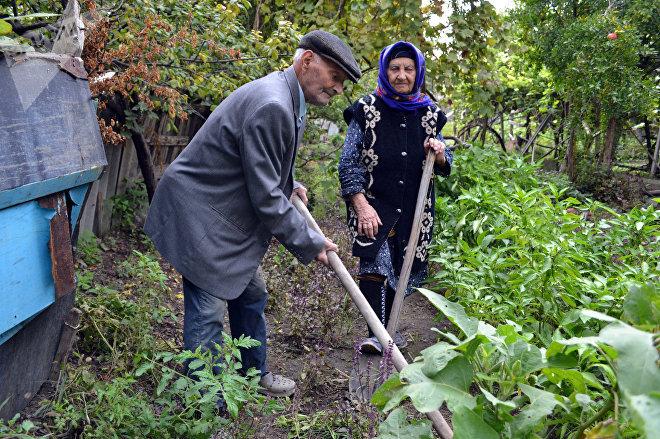 Али и Гюлюш Ахмедовы