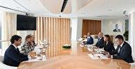 Первый вице-президент Мехрибан Алиева встретилась с делегаций во главе с заместителем председателя Сената Италии