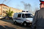 Ermənistanda təcili yardım maşını