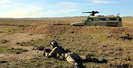 В воинской части Концепции Оперативной Возможности проведено учение с боевой стрельбой