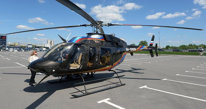 Вертолет Bell 407 GX, фото из архива