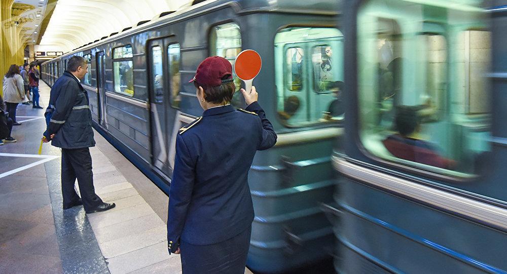 Бакинский метрополитен, фото из архива
