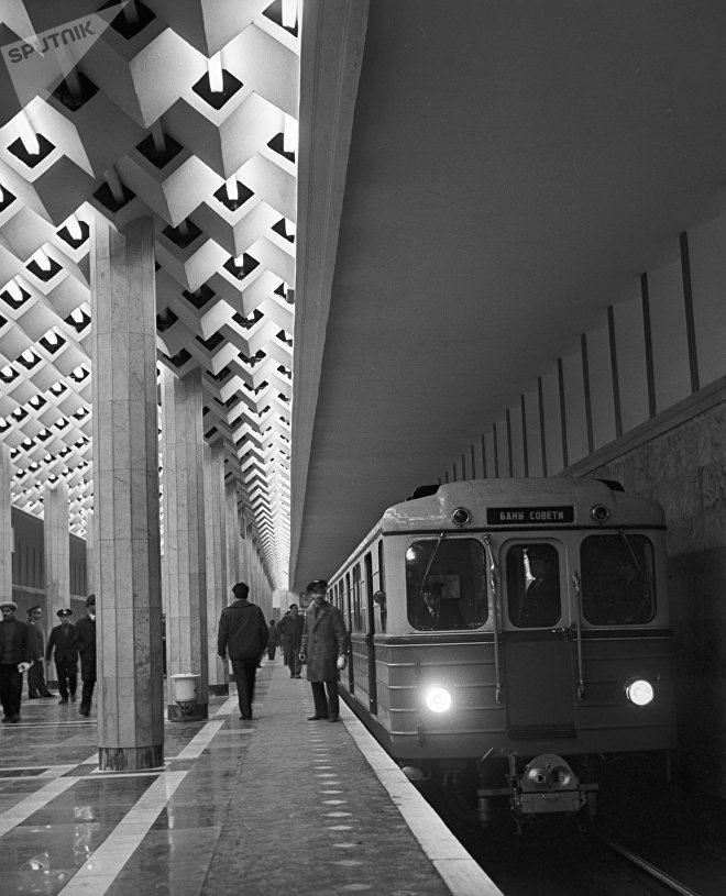 Станция Улдуз Бакинского метрополитена