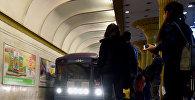 Станция метро в Баку, фото из архива