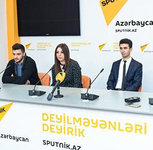 Итоги джазовой осени подвели в Sputnik Азербайджан