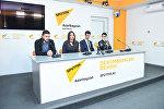 Пресс-конференция в мультимедийном пресс-центре Sputnik Азербайджан, посвященная итогам Baku Jazz Festival