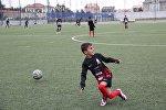 Вице-президент Фонда Гейдара Алиева Лейла Алиева поддержала юных футболистов