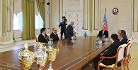 Prezident İlham Əliyev şahmat üzrə Avropa komanda çempionatının qaliblərindən ibarət nümayəndə heyətini qəbul edib